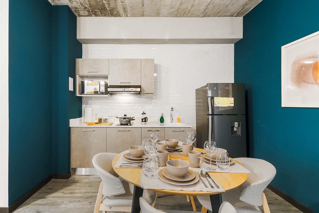 comedor - apartamento vivotel