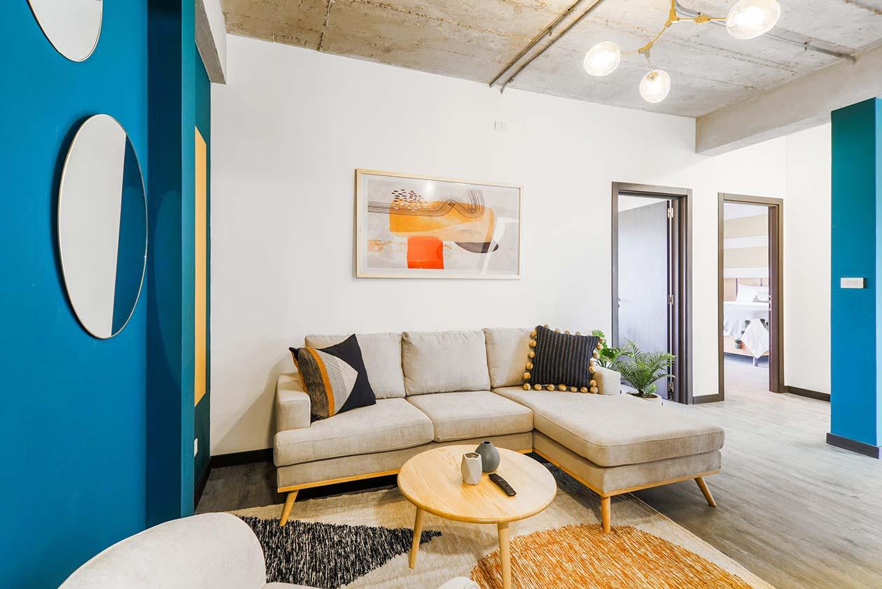 sala - apartamento vivotel
